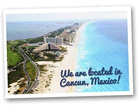 Our dental clinic is located in Cancun Mexico